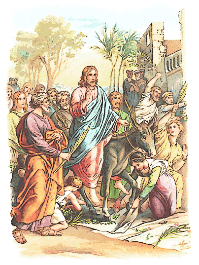 Palm Sunday Entrance